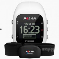 Пульсометр Polar A300 HR White