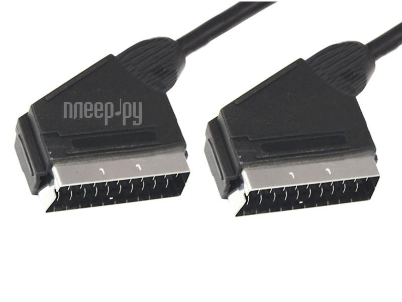 Аксессуар Rexant SCART (21PIN) 1.5м CCS D 7mm 17-1103