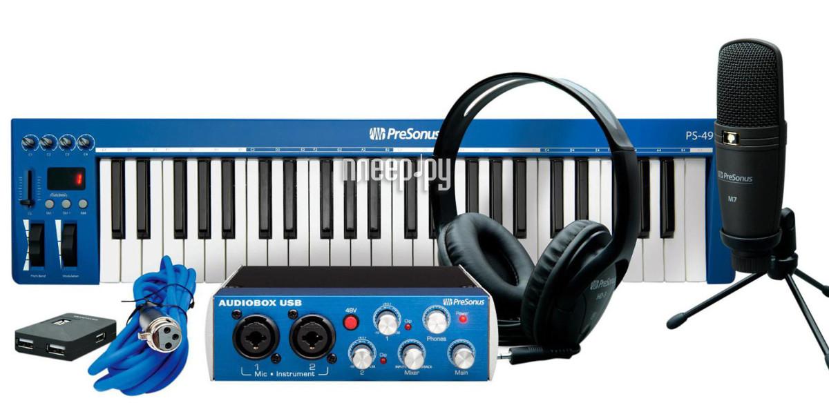 Аудиоинтерфейс PreSonus AudioBox iTwo