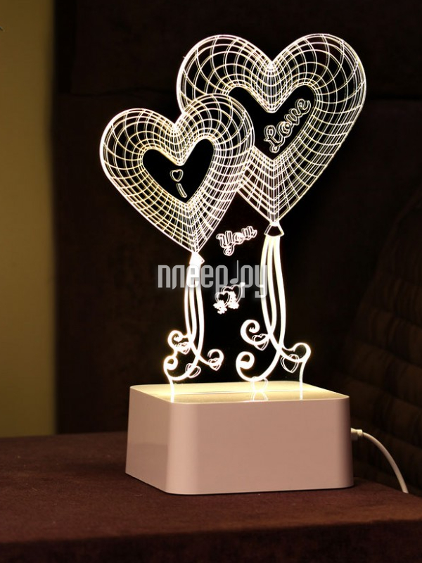 3D лампа OP Материя WL022-006