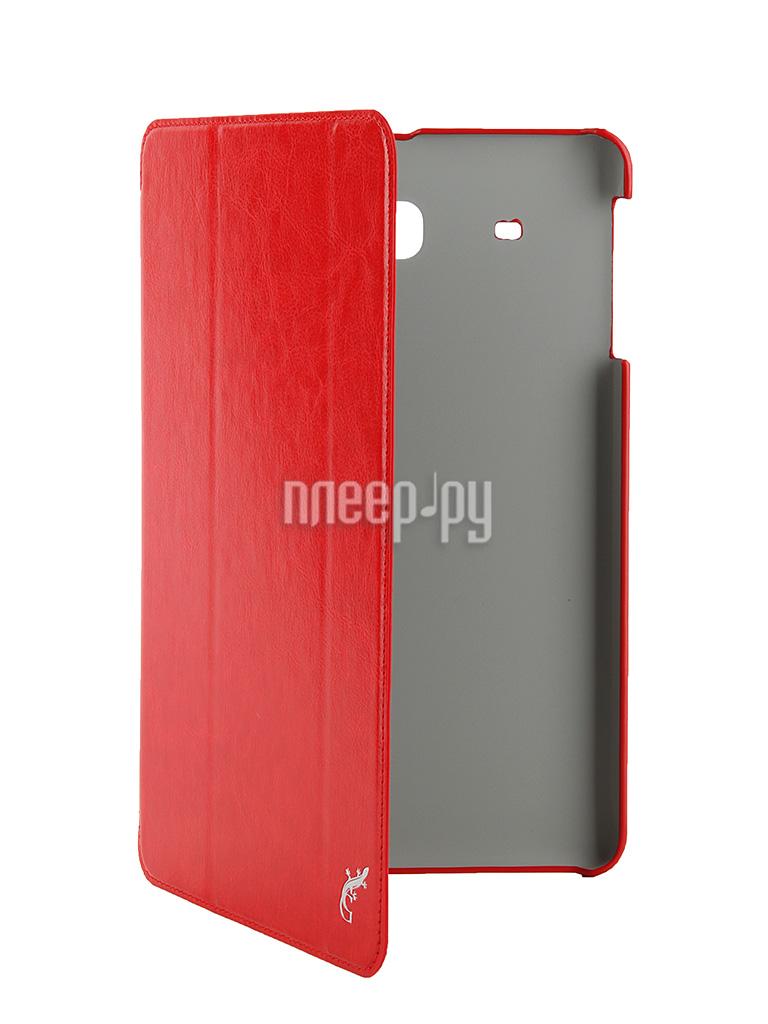 Аксессуар Чехол Samsung Galaxy Tab E 9.6 G-Case Slim Premium Red GG-621