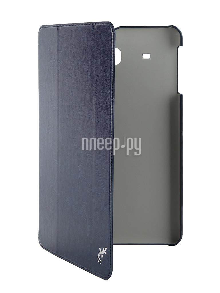 Аксессуар Чехол Samsung Galaxy Tab E 9.6 G-Case Slim Premium Dark-Blue GG-622 купить