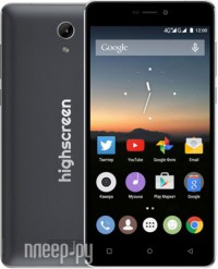 Highscreen Power Five Black Grey