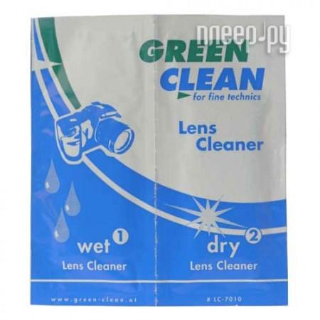 Аксессуар Green Clean Салфетки (влажные+сухие) LC-7010