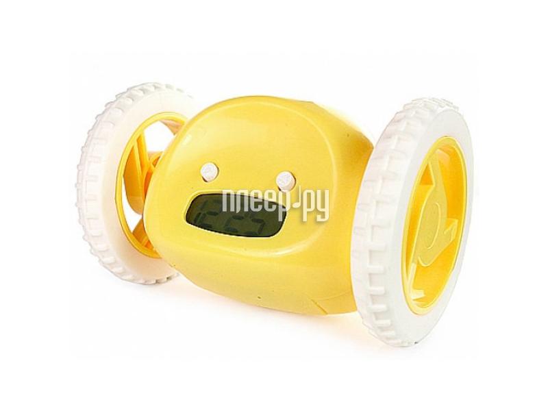 Гаджет Эврика Часы будильник Инопланетянин Yellow 93483
