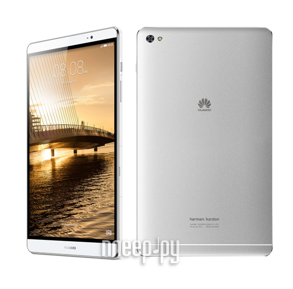 Планшет Huawei MediaPad M2 8.0 16Gb LTE M2-801L Silver 53015038 / 53017935 (Kirin 930 2.0GHz / 2048Mb / 16Gb / GPS / LTE / Wi-Fi / Bluetooth / Cam / 8.0 / 1920x1200 / Android)