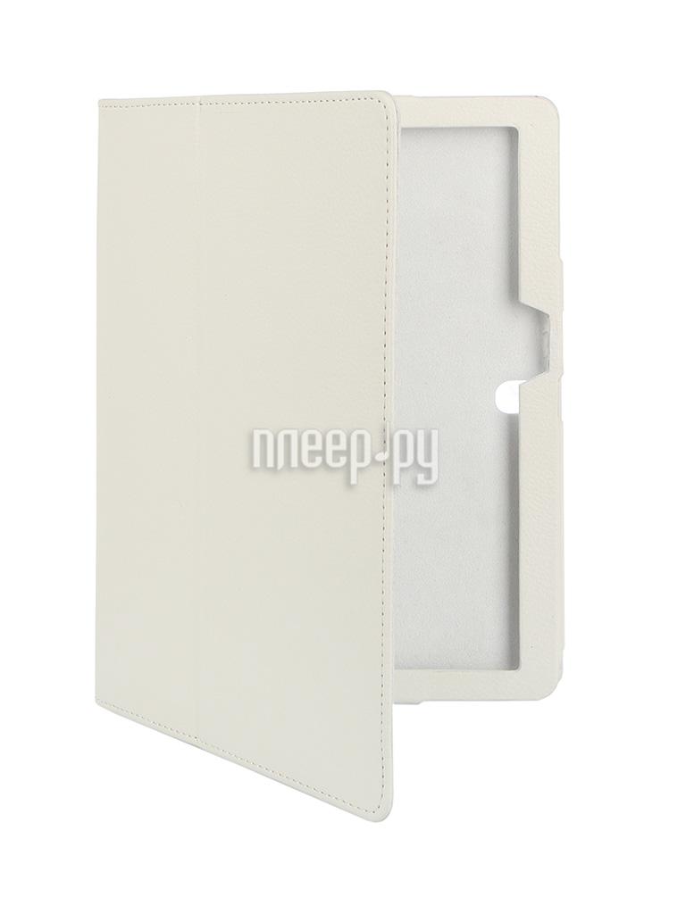 Аксессуар Чехол Lenovo Tab 2 A10-70 10.0 IT Baggage иск. кожа White ITLN2A102-0
