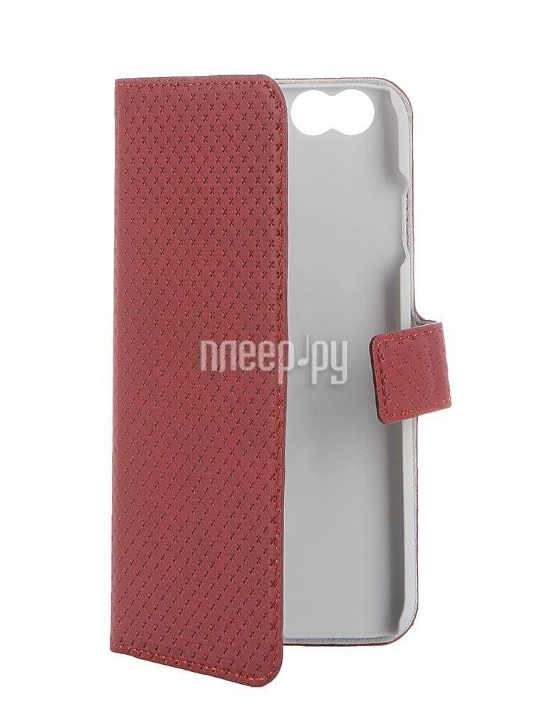 Аксессуар Чехол-книжка Muvit Wallet Folio Stand Case для iPhone 6 Red MUSNS0070