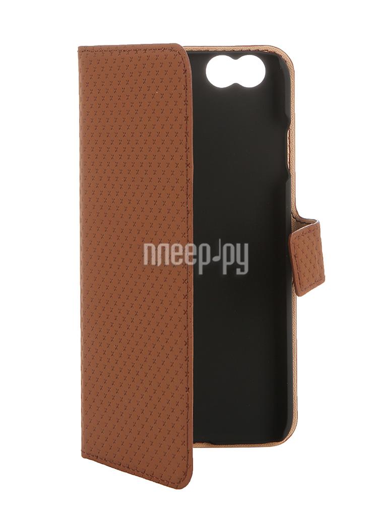 Аксессуар Чехол-книжка Muvit Wallet Folio Stand Case для iPhone 6 Brown MUSNS0072