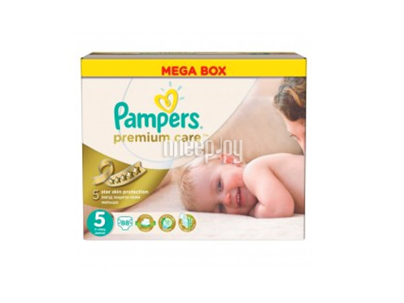 Подгузники Pampers Premium Care Junior 11-25кг 88шт 4015400541813
