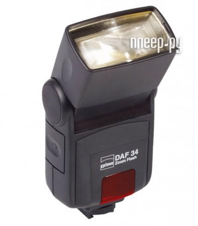 Вспышка Doerr D-AF-34 P Zoom Flash Olympus / Panasonic (D370906/D370915)  Pleer.ru  1755.000