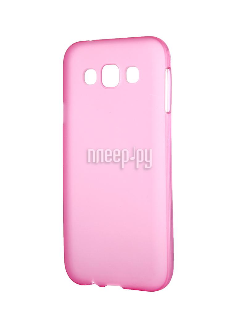 Аксессуар Чехол-накладка Samsung Galaxy SM-E500 E5 Activ Silicone Rose Mat