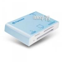 Transcend Compact Card Reader P8 TS-RDP8A Blue