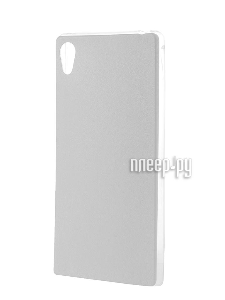 Аксессуар Чехол Activ for Sony Xperia Z4 HiCase силиконовый White 48135