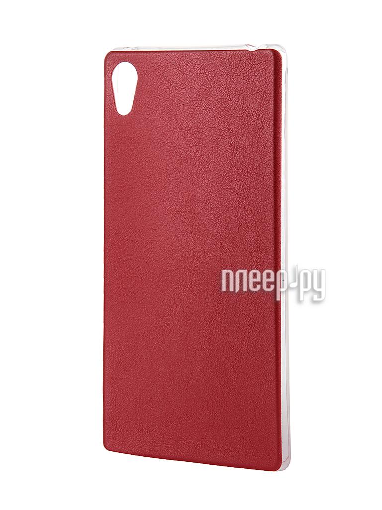 Аксессуар Чехол Activ for Sony Xperia Z4 HiCase силиконовый Red 48134