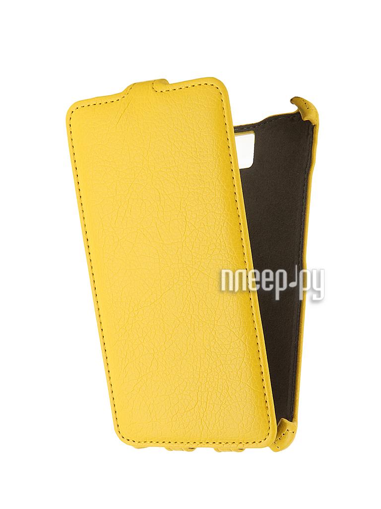 Аксессуар Чехол-флип Lenovo S856 Activ Yellow 44616