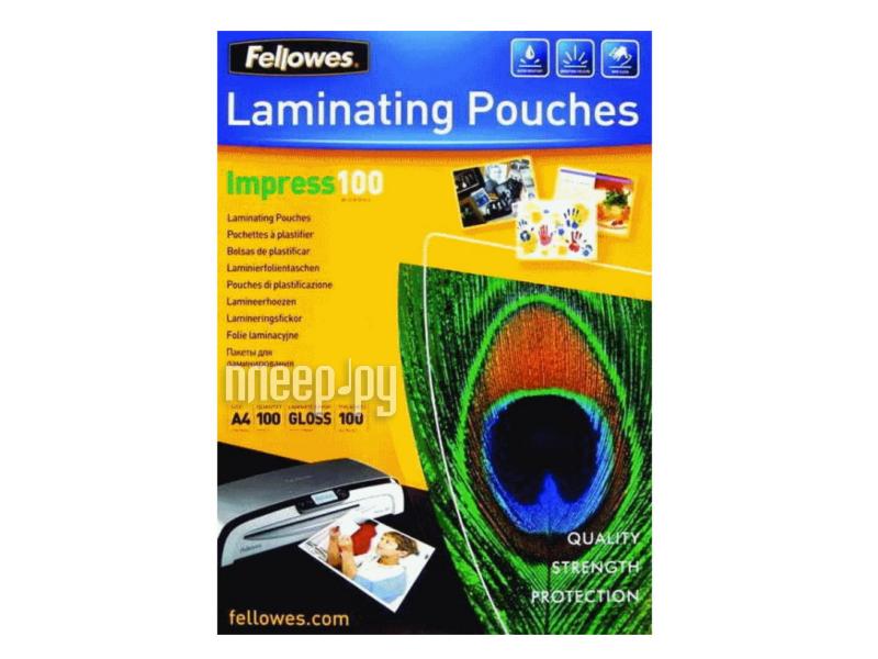 Пленка для ламинатора Fellowes 100шт FS-53511