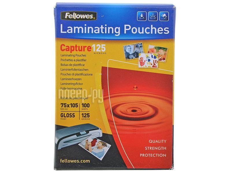 Пленка для ламинатора Fellowes 100шт FS-53069