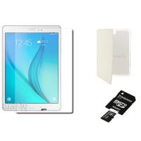 Samsung SM-T550 Galaxy Tab A 9.7 White  - 16Gb Wi-Fi SM-T550NZWASER �������� �����!!! (Qualcomm Snapdragon APQ8016 1.2 GHz/1536Mb/16Gb/Wi-Fi/Bluetooth/GPS/Cam/9.7/1024x768/Android)
