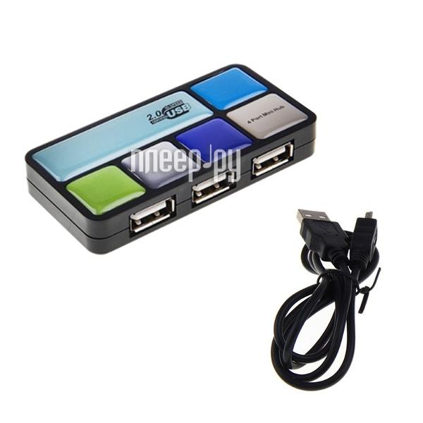 Хаб USB Luazon 4-ports 134048