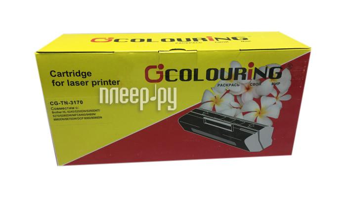 Картридж Colouring CG-TN-3170 для Brother DCP8060 / 8065 / HL5240 / 5250 / 5270 / 5280 / MFC8860 / 8460 / 8870