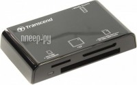 Карт-ридер Transcend Compact Card Reader P8 TS-RDP8K Black