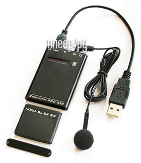 Диктофон Edic-mini PRO A38-300h - 2Gb Black  Pleer.ru  11799.000