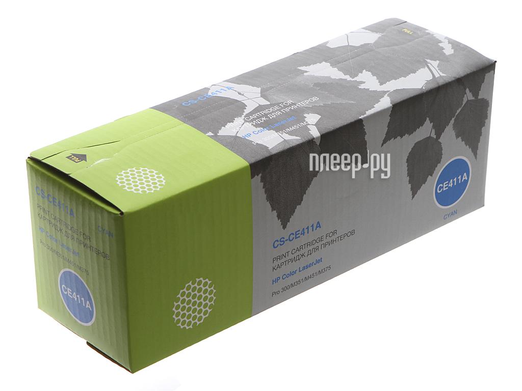 Картридж Cactus CS-CE411A Cyan for HP CLJ Pro 300 Color M351 / Pro 400 Color M451