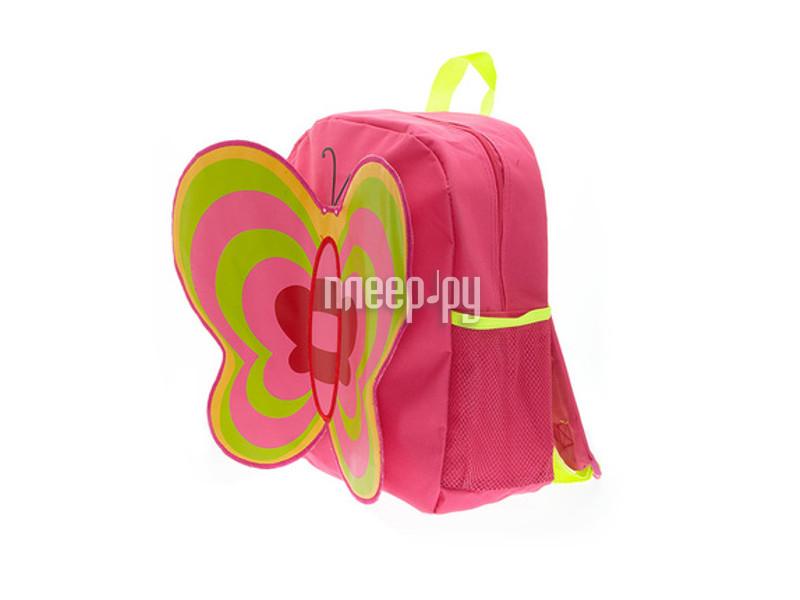 Рюкзак 3D Bags Бабочка Fuchsia-Green 3DHM262