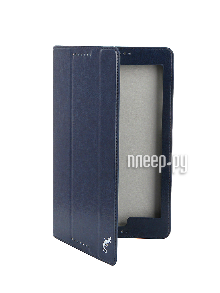 Аксессуар Чехол Lenovo Tab 2 8 A8-50 G-Case Executive Dark-Blue GG-644