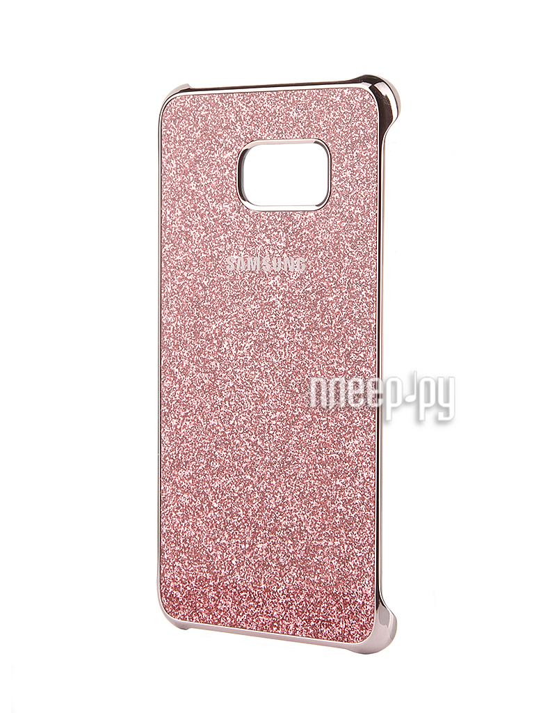 Аксессуар Чехол-накладка Samsung SM-G928 Galaxy S6 Edge+ Pink Glitter Cover