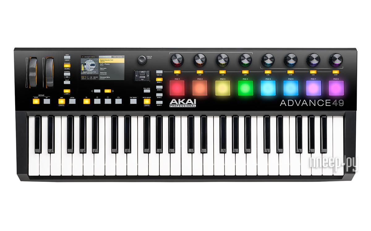 Midi-клавиатура AKAI pro Advance 49