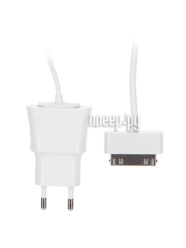 Зарядное устройство Maverick 1089 для iPhone 4/4S / iPad White сетевое