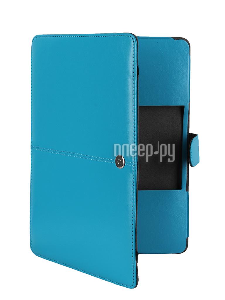 Аксессуар Чехол 12-inch Palmexx Книга для APPLE MacBook 12 Turquoise