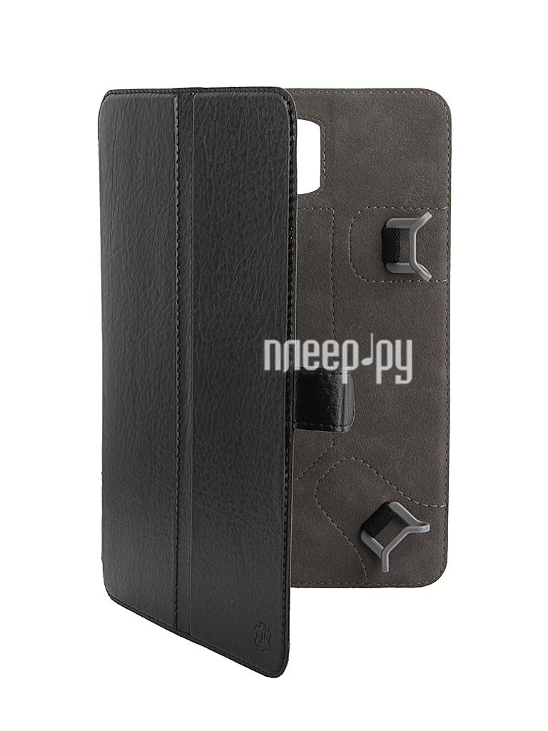 Аксессуар Чехол-книжка 8-inch Norton универсальный, с уголками Black
