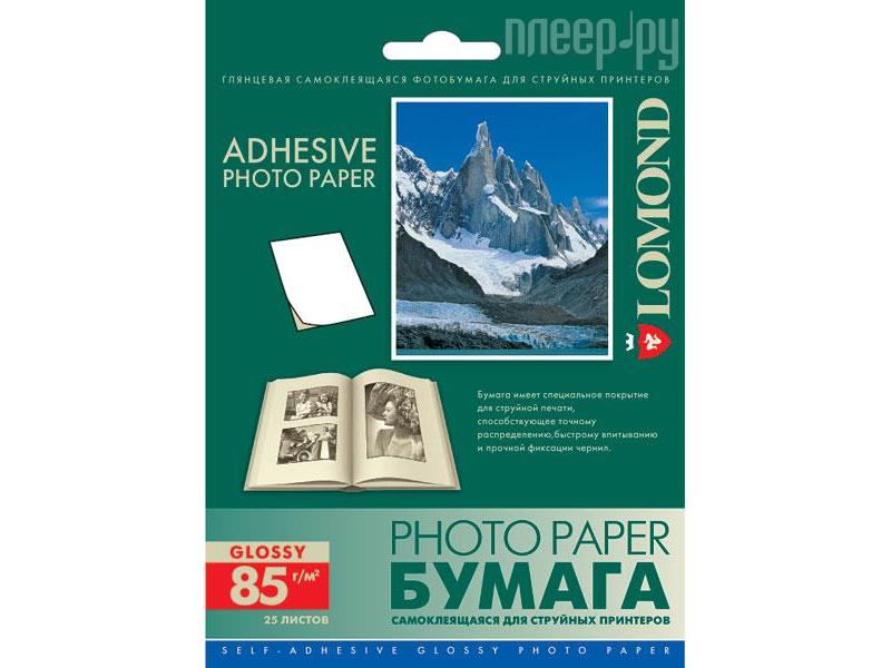 Фотобумага Lomond 2413003 глянцевая 85g / m2 105x148.5mm 25 листов