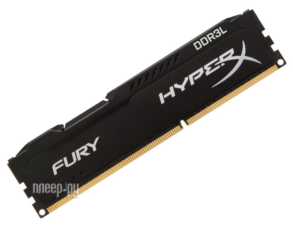 Модуль памяти Kingston DDR3L DIMM 1866MHz PC3-14900 CL11 - 8Gb HX318LC11FB/8