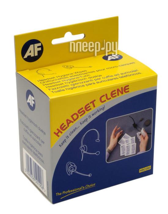 Аксессуар AF International AHSC050 - антибактериальные салфетки Headset-Clene
