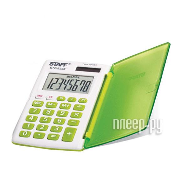 Калькулятор STAFF STF-6238 Green