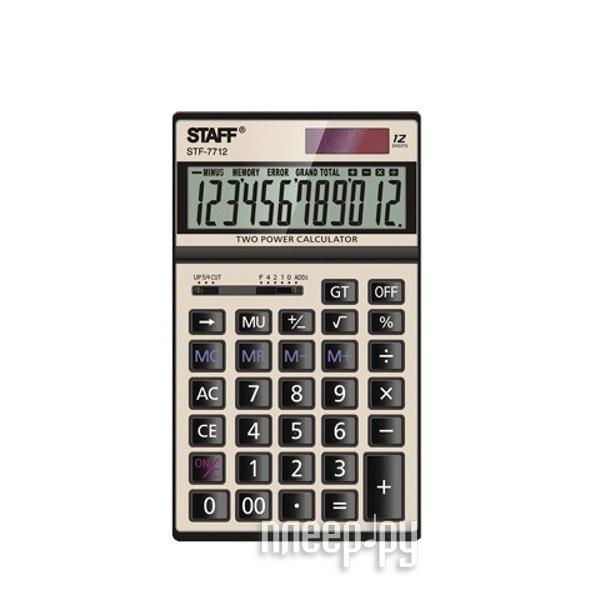 Калькулятор STAFF STF-7712-GOLD