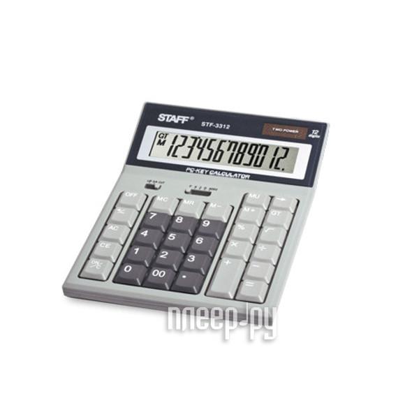 Калькулятор STAFF STF-3312