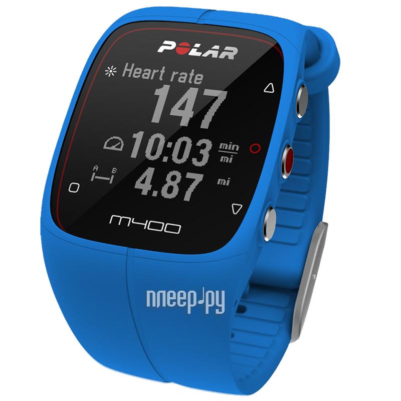 Пульсометр Polar M400 HR Blue