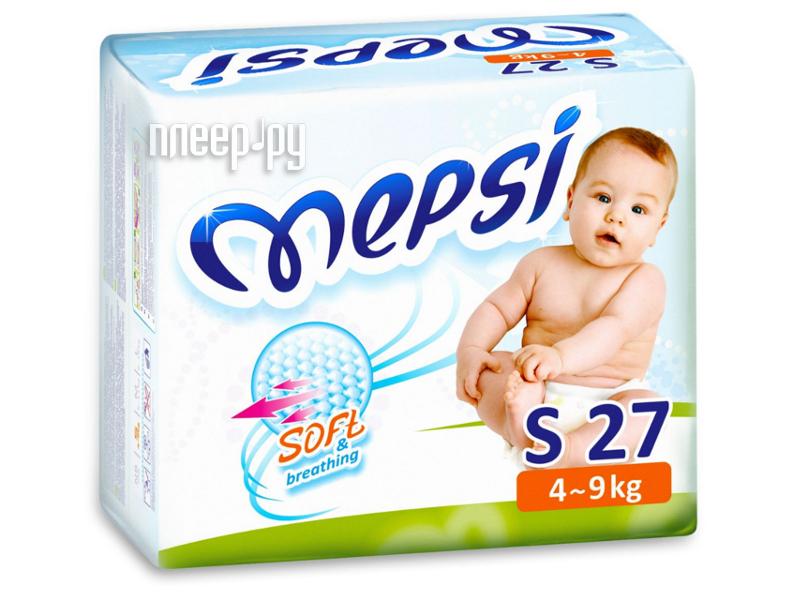 Подгузники Mepsi Premium S 4-9кг 27шт