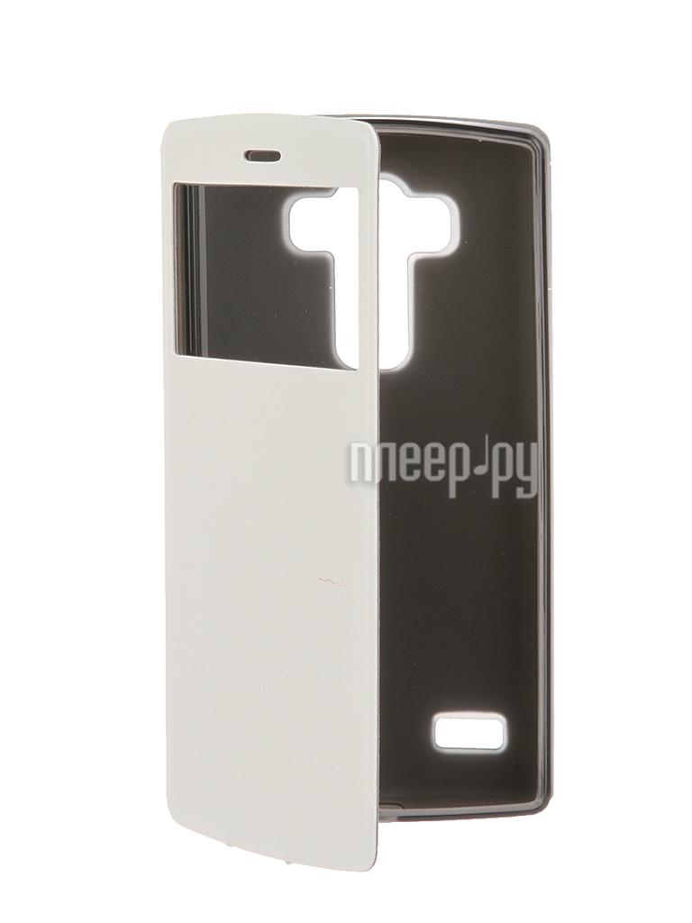 Аксессуар Чехол SkinBox LG G4S Lux AW White T-S-LG4S-004 за 360 рублей