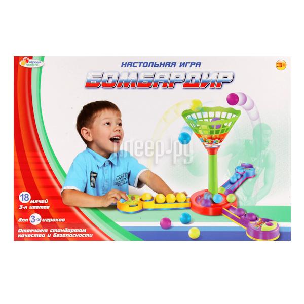 Настольная игра Играем вместе Бомбардир B796097-R за 788 рублей