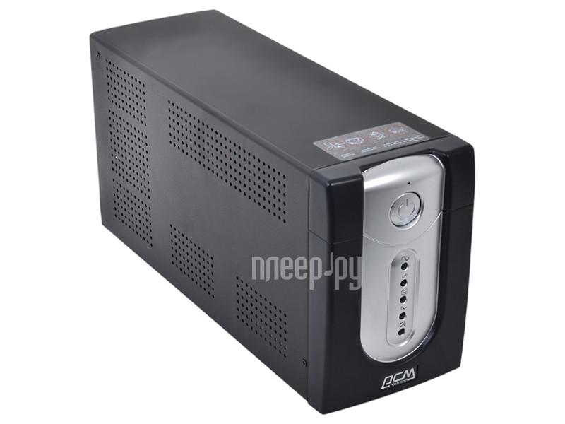 Источник бесперебойного питания Powercom Imperial IMP-2000AP 2000VA 1200W Black