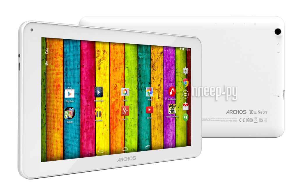 Планшет Archos 101c Neon 8Gb 502799 (MediaTek MT8127 1.3 GHz / 1024Mb / 8Gb / Wi-Fi / Bluetooth / GPS / Cam / 10.1 / 1024x600 / Android)