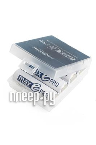 Аккумулятор AA - Ansmann AHDBT 1900 для maxE PRO + футляр BOX4 1302-0013-1