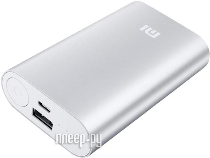 Аккумулятор Xiaomi Power Bank NDY-02-AN / VXN4110CN 10000 mAh Silver