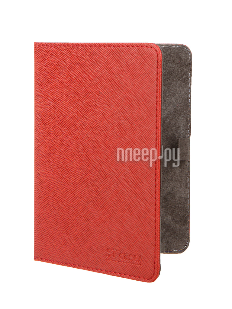 Аксессуар Чехол ST Case for Pocketbook 515 иск.кожа Red ST-c-PB515-RED-LTH